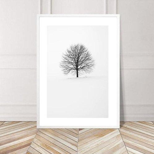 Winter Tree Print