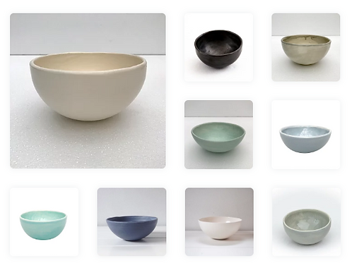 Globe Bowl - Various Colours