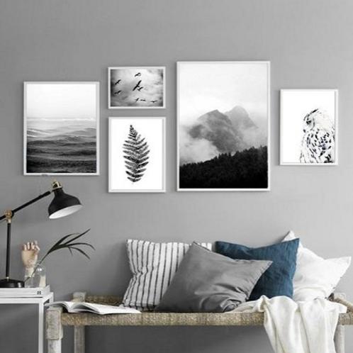 Nature Prints - Set of 5