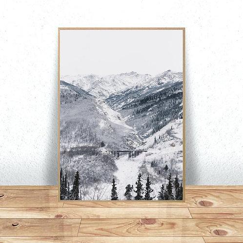 Mountain Bridge Print