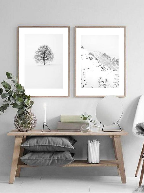 Berg & Snø Prints - Set of 2