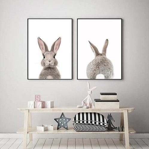 Bunny Prints - Set of 2