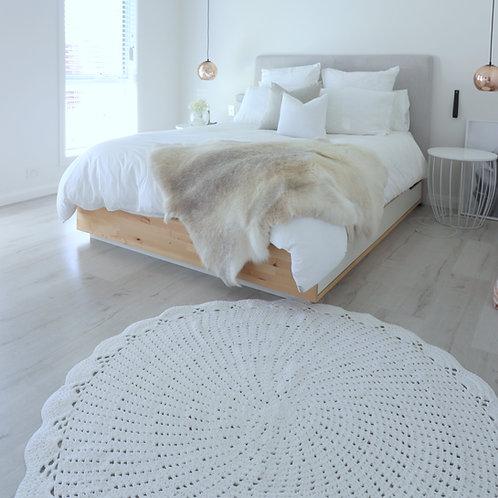 Stockholm Rug - White or Grey