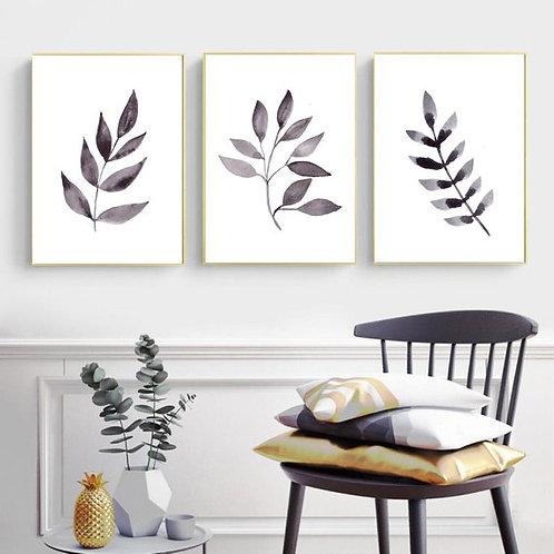 Leaf Print - Set of 3