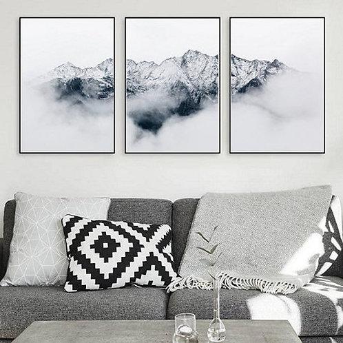 Mountain Print - Set of 3