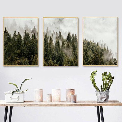 Forest Print - Set of 3
