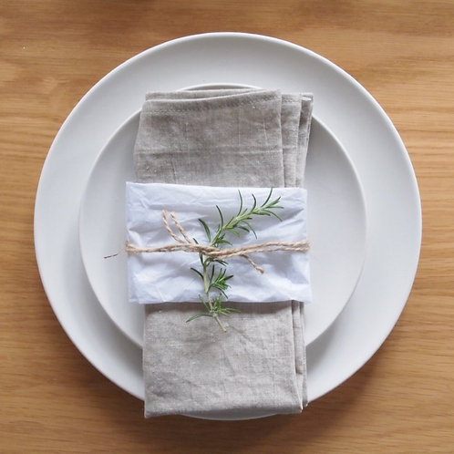 Linen Napkin (set of 4) - Natural