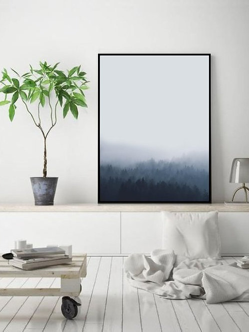 Lost in the Fog Print