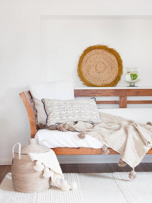 Paperbark Wool Berber Throw