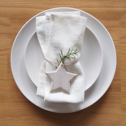 Linen Napkin (set of 4) - White