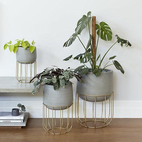 Grey Oslo Planter - Various Sizes