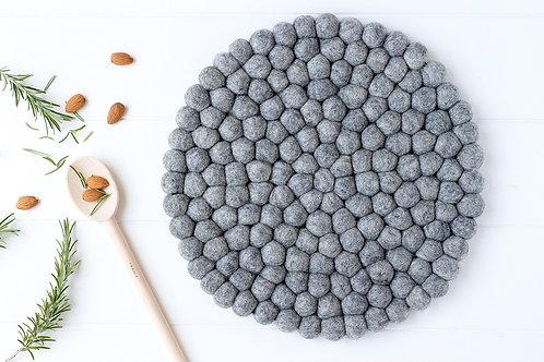 Felt Placemat - Grey