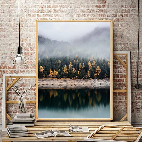 Autumn Lake Print
