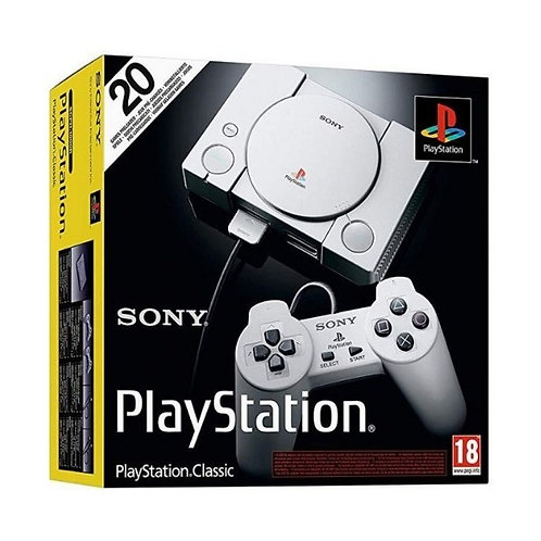 PlayStation Classic (with 20 Pre-Loaded Games) Official by Sony 2018