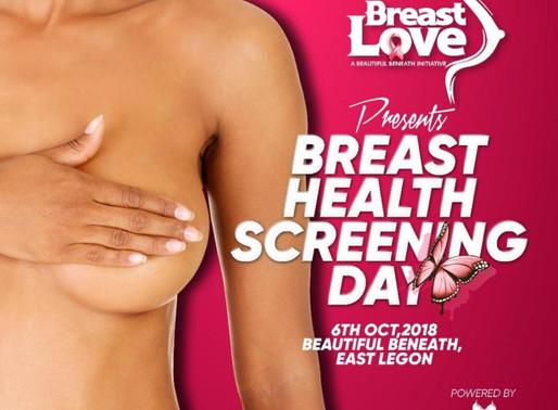 Beautiful Beneath Breast Health Screening  on 6th October 2018