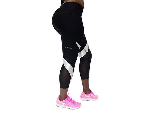 Black Trainer Pants