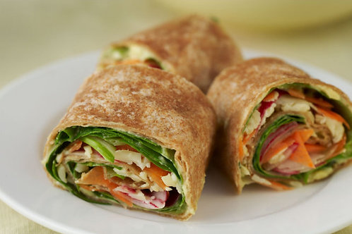 NourishLab Vegetable Wrap
