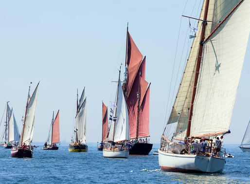 Last Minute 50% offer for Taking part in the Falmonth Classics Regatta and deliveries from Dartmouth