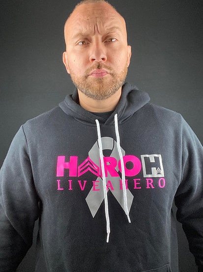 Breast Cancer Awareness LiveAHero Hoodie