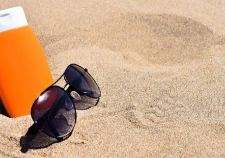 Advertencia de protección solar