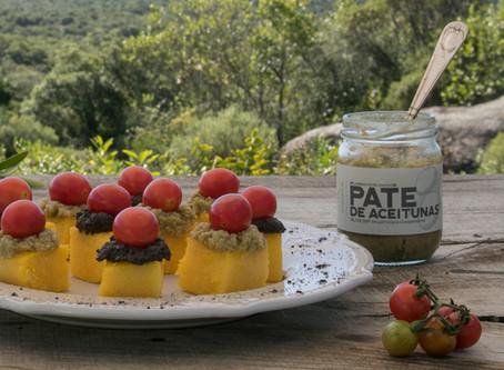 Canapés de polenta y rawmesano, una nueva forma de disfrutrar la polenta