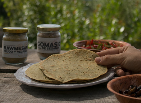 Wraps o panqueques de trigo sarraceno, veganos y sin gluten!