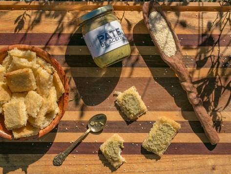Chips saludables de mijo, ajo y cebolla, sin gluten, sin lácteos y sin azúcar!