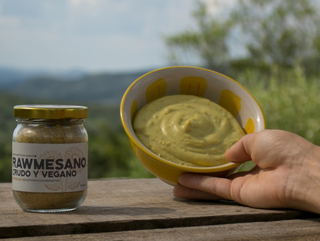 Paparella, 'queso' untable vegano de papa
