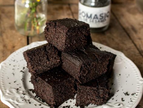 Brownies de quinoa, sin gluten y sin lacteos!