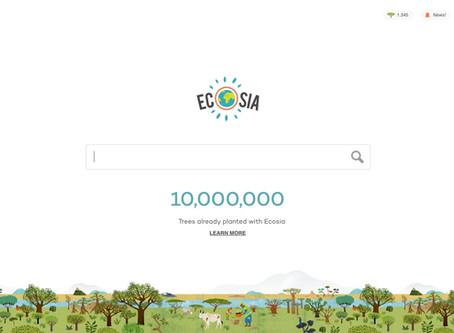 Conocé ECOSIA, una alternativa sustentable a Google.