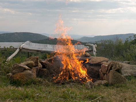 Fuego, un gran aliado en el proceso de compostaje!