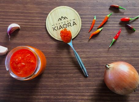 Sriracha fermentada - Salsa picante de ajies