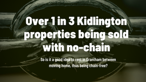 1 in 3 Kidlington Properties BeingSold with No Chain