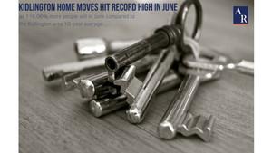 Kidlington Home Moves Hit Record High in June