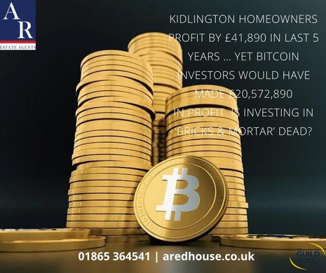 Kidlington Homeowners Profit By £41,890 in Last 5 Years