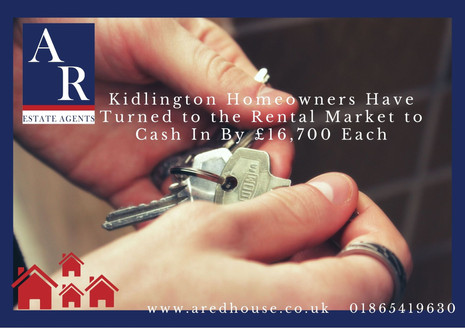 Kidlington Homeowners Have Turned to the Rental Market to Cash In By £16,700 Each