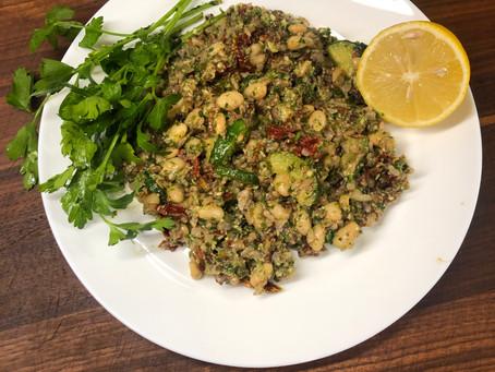 Vegan Pesto Salad