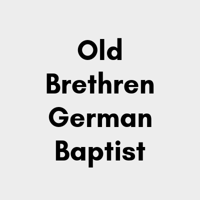 Old Brethren German Baptist