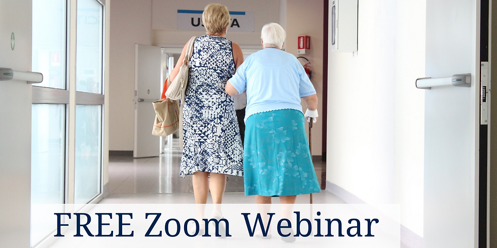 Zoom Webinar: The Importance of Having a Plan – Clarifying Long-Term Care Misconceptions and 10 Mistakes To Avoid