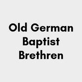 Old German Baptist Brethren