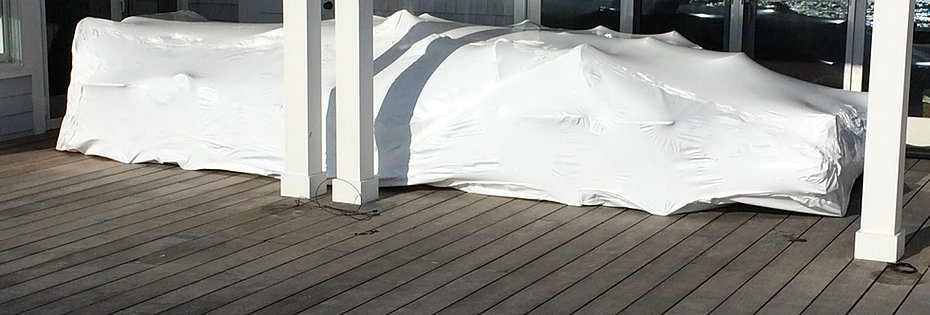 Long Island Shrink Wrapping Boats Amp Furniture Long