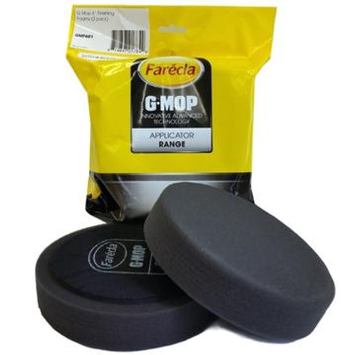 "Farecla 6"" Black Finishing Foam Pad 2-Pack - GMF601"