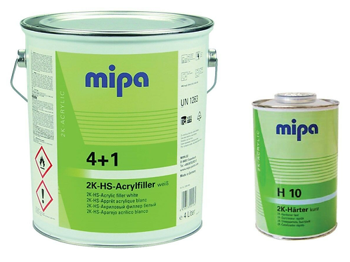 Mipa 4+1 Primer Kit - Includes Hardener