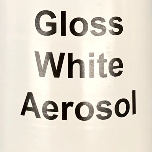 Gloss White Aerosol - 500ml