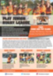 Tigers New Recruit 2018 Flyer U6 - A5.jp