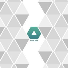 """Logo & avar """"vine live"""""""