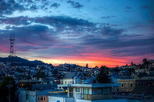 Sutro Sunset - San Francisco, California