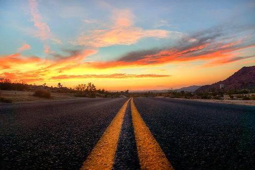 Highway To Happiness - Joshua Tree, California