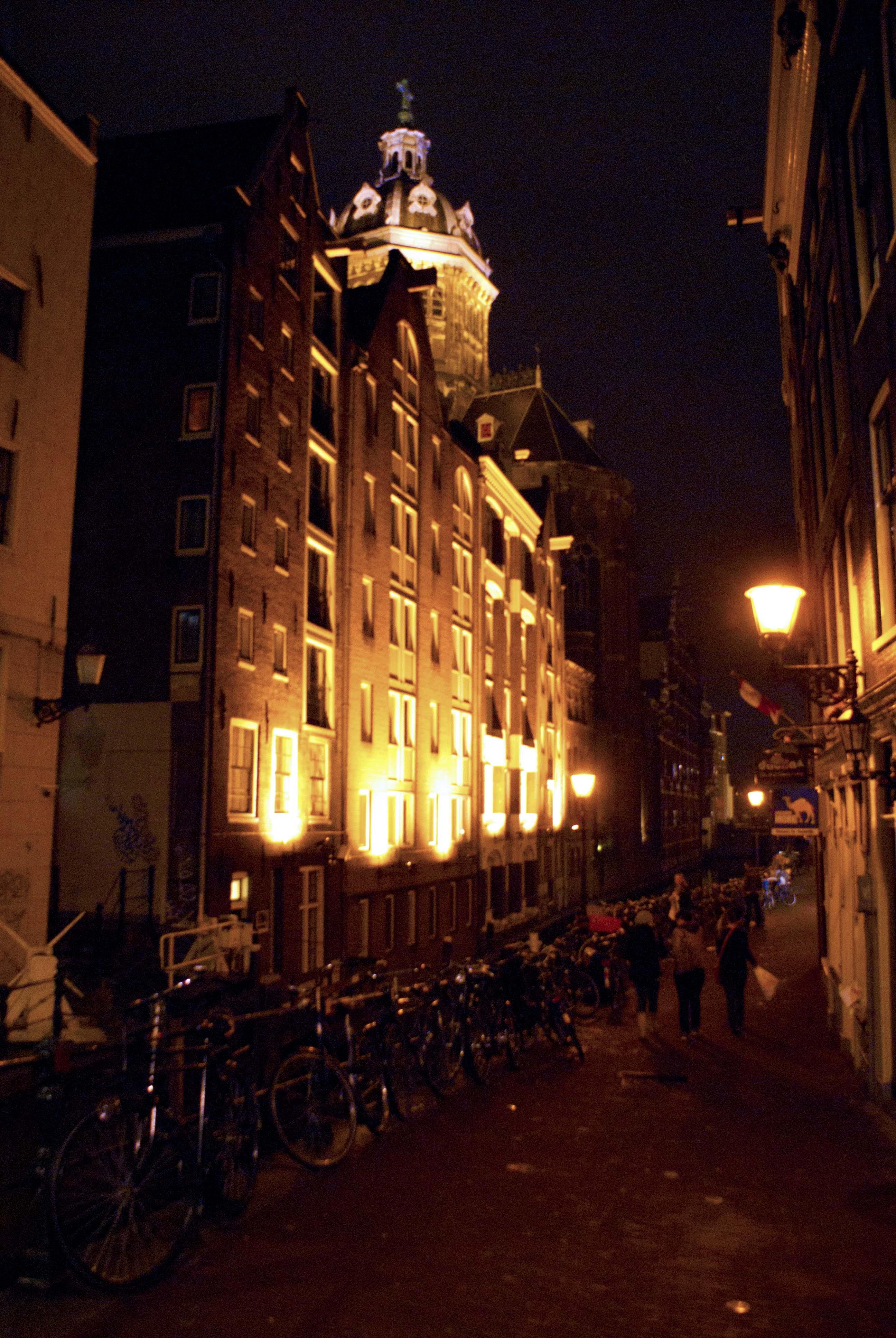 Building Lights Amsterdam