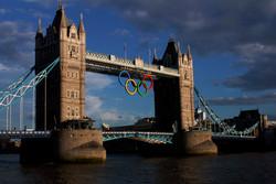 2012 Olympics London Bridge
